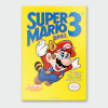 Nintendo Super Mario 3 Chromalux High Gloss Metal Poster: Image 1