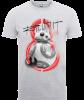 Star Wars The Last Jedi BB8 Roll With IT Grey T-Shirt: Image 1
