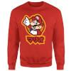 Nintendo Super Mario Mario Kanji Sweatshirt - Red: Image 1