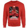 Marvel Deadpool Crossed Arms Sweatshirt - Red: Image 1