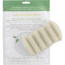 The Konjac Sponge Company 6 Wave Bath Sponge with Green Clay