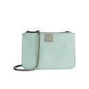 Ted Baker Women's Alisa Zip Crosshatch Cross Body Bag - Mint