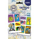 DC Comics Heroes and Villians - Tattoo Pack