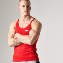 Myprotein Men's Longline Stringer Vest, Red