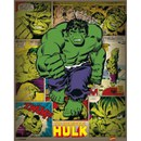 Marvel Comics Incredible Hulk Retro - 16 x 20 Inches Mini Poster