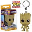 Marvel Guardians Of The Galaxy Groot Pocket Pop! Vinyl Key Chain