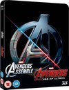 Avengers Double Pack 3D (Includes 2D) – Zavvi Exclusive Limited Edition Steelbook (UK EDITION)