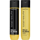 Matrix Total Results Hello Blondie Shampoing brilliance et Apres-Shampoing (2x300ml)