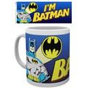 DC Comics Batman Comic I'm Batman Bold - Mug