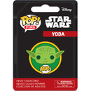 Star Wars Yoda Badge Pop! Pin