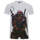 Marvel Deadpool Men's Character T-Shirt - White