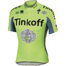 Tinkoff BodyFit Pro Team Short Sleeve Jersey 2016 - Yellow