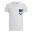 Jack & Jones Men's Originals Bobby Pocket Print T-Shirt - White