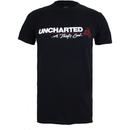 Uncharted 4 Men's Logo T-Shirt - Black