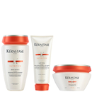 Bain Satin 1 Kérastase Nutritive 250 mlLait Vital Nutritive200 ml & Masquintense Cheveux Fins200 ml