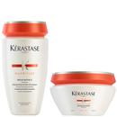Kérastase Nutritive -setti: Bain Satin 2 -shampoo 250ml ja Masquintense Cheveux Epais -hiusnaamio paksuille hiuksille 200ml