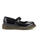 Dr. Martens Kids' Maccy J Patent Lamper Mary Jane Flats - Black