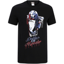DC Comics Men's Suicide Squad Harley Quinn Daddy's Lil Monster T-Shirt - Black