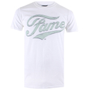 Fame Men's Logo T-Shirt - White