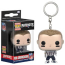 NFL Rob Gronkowski Pocket Pop! Vinyl Key Chain