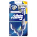 Gillette Sensor 3 Disposable Razors (4 Pack)