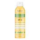 Babo Botanicals Sheer Zinc Fragrance Free Continuous Spray Sunscreen SPF 30