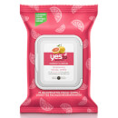 yes to Grapefruit Rejuvenating Facial Wipes (25er-Packung)