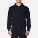 Polo Ralph Lauren Men's Double Knit Full Zip Hoodie - Aviator Navy