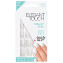 Elegant Touch Totally Bare Nails - Square 001