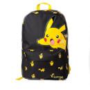 Mochila Pokémon Pikachu - Negro