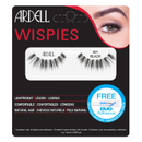 Ardell Wispies Clusters False Eyelashes -irtoripset, 601 Black