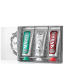 Pack de tres pastas de dientes Travel Flavour de Marvis (3 x 25 ml)
