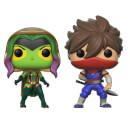 Marvel Vs Capcom Gamora Vs Strider Pop! Vinyl Figure 2 Pack