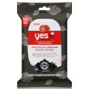 Toallitas purificantes de tomate y carbón de yes to (Pack de 10)
