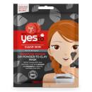 Mascarilla purificante lista para preparar de tomate y carbón de yes to 5 g