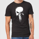 Marvel The Punisher Paintspray Herren T-Shirt - Schwarz