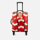 Orla Kiely Women's Spring Bloom Vinyl Travel Cabin Case - Ruby