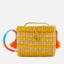 Nannacay Women's Roge Multi Thread Cross Body Bag - Off White/Yellow