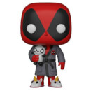 Figura Funko Pop! Deadpool con Bata - Marvel Deadpool Playtime