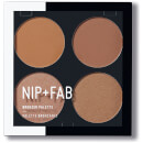 NIP+FAB Make Up Bronzer Palette - Bronzed 01 15.2g