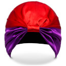 SILKE Hair Wrap The Dita - Purple and Red