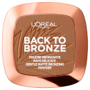 Bronzer em Pó Mate - Back To Bronze da L'Oréal Paris 9 g