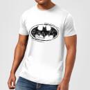 DC Comics Batman Sketch Logo T-Shirt - White
