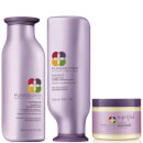 Shampoo, Condicionador e Máscara Superfood Hydrate Colour Care Trio da Pureology