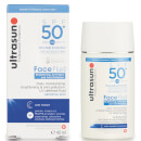 Creme Solar FPS 50+ Anti-Pollution Face Fluid da Ultrasun 40 ml