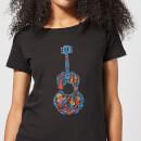 Camiseta Coco Disney Guitarra - Mujer - Negro