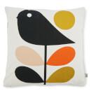 Orla Kiely Linear Early Bird Cushion - Pale Rose