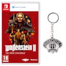 Wolfenstein II: The New Colossus + Airborne Infantry Metal Keychain
