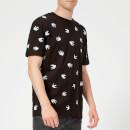 McQ Alexander McQueen Men's Dropped Shoulder Mini Swallow T-Shirt - Darkest Black
