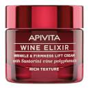 APIVITA Wine Elixir Wrinkle & Firmness Lift Cream -voide 50ml, Rich Texture